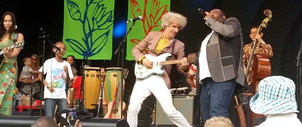Little Goose, Dan Zanes, and Father Goose @ Zanes's Lead Belly Project